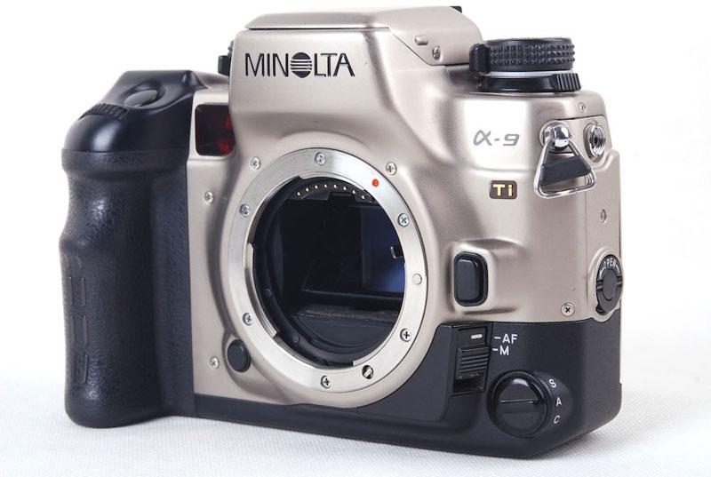 【美品】MINOLTA美能达a9 Ti钛版日本99年相